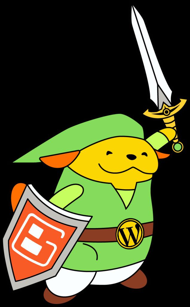 Wapuu WordPress Zelda
