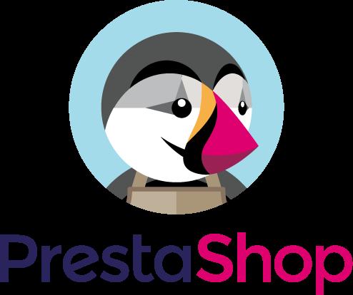 logo prestashop agence de création